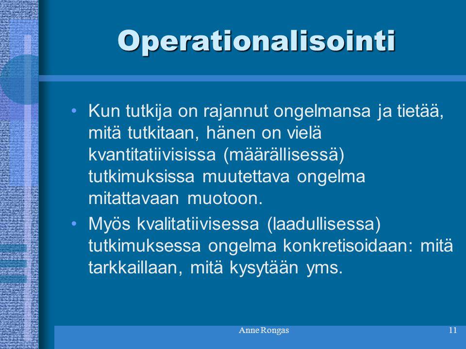 Operationalisointi