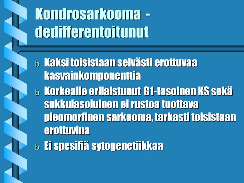 Kondrosarkooma - dedifferentoitunut