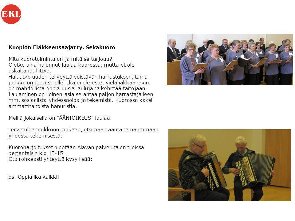 Kuopion Eläkkeensaajat ry
