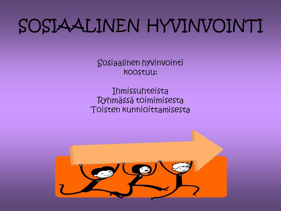 SOSIAALINEN HYVINVOINTI