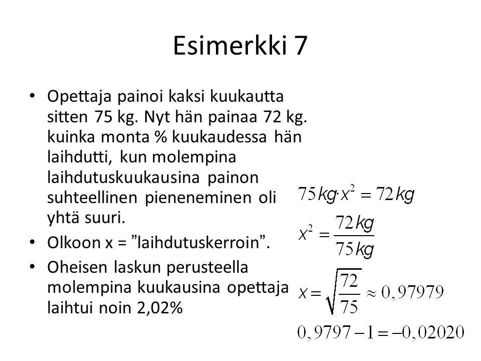 Esimerkki 7