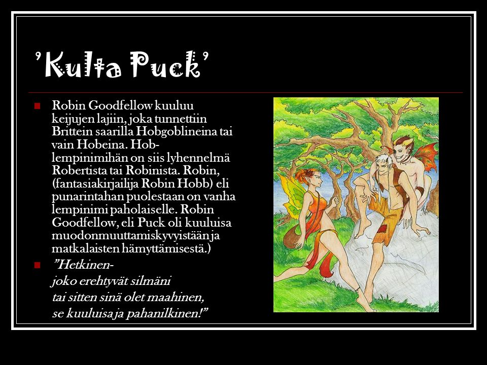 'Kulta Puck'