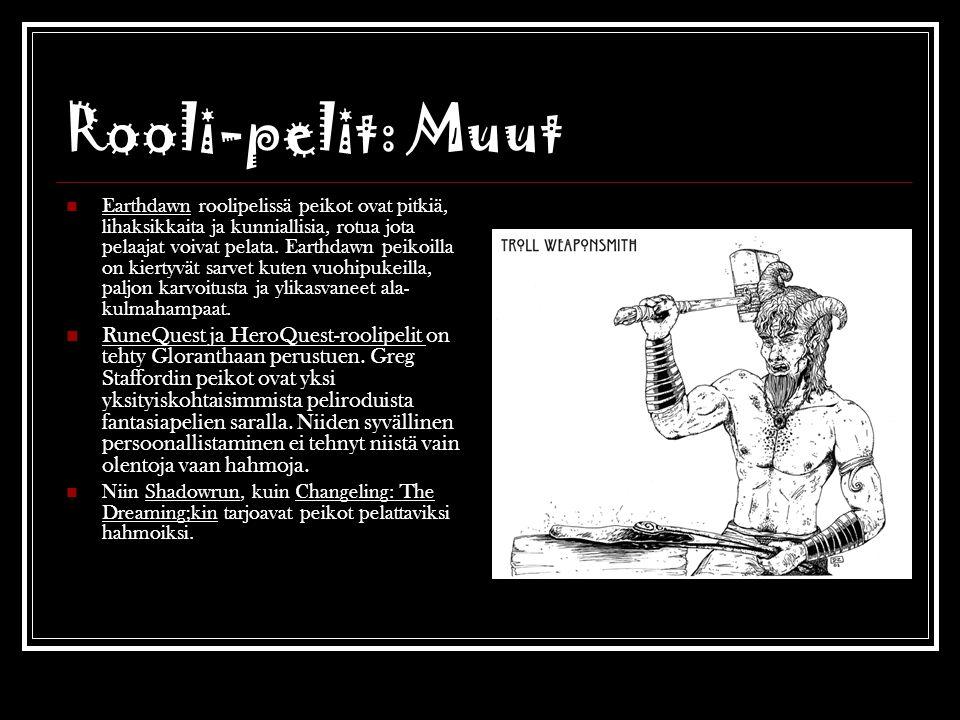 Rooli-pelit: Muut
