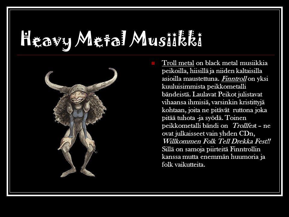 Heavy Metal Musiikki