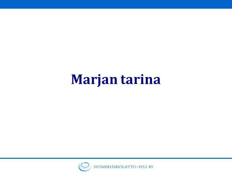 Marjan tarina