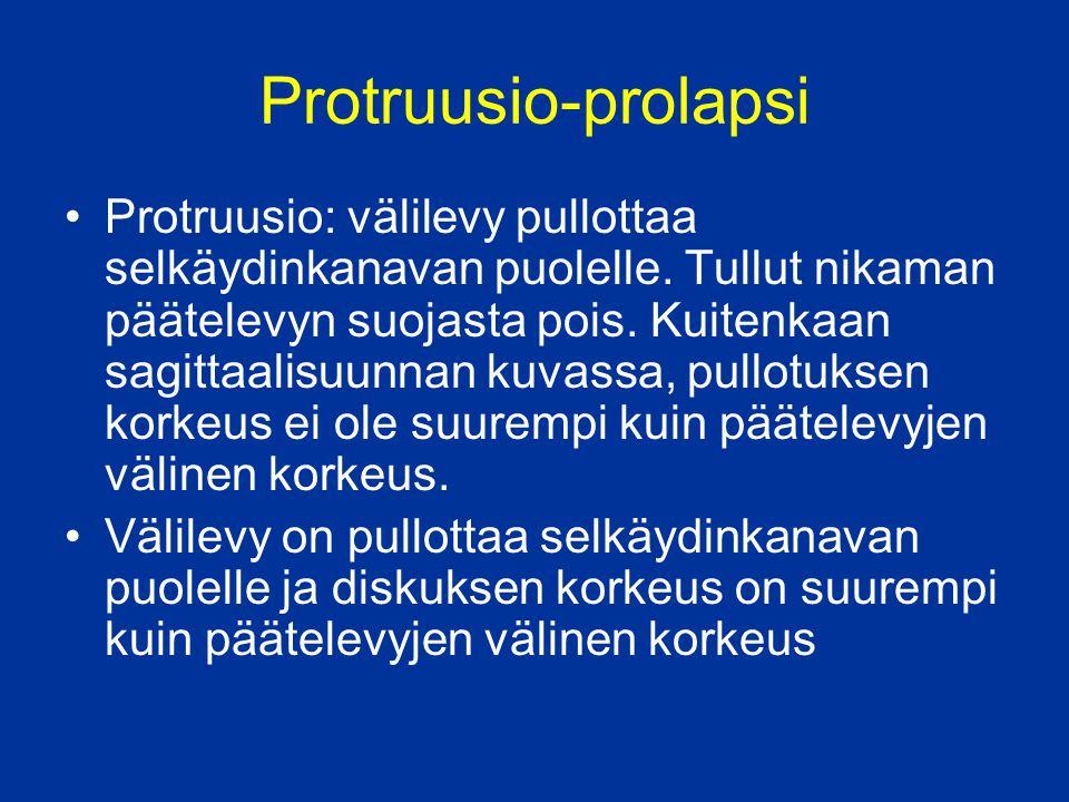 Protruusio-prolapsi