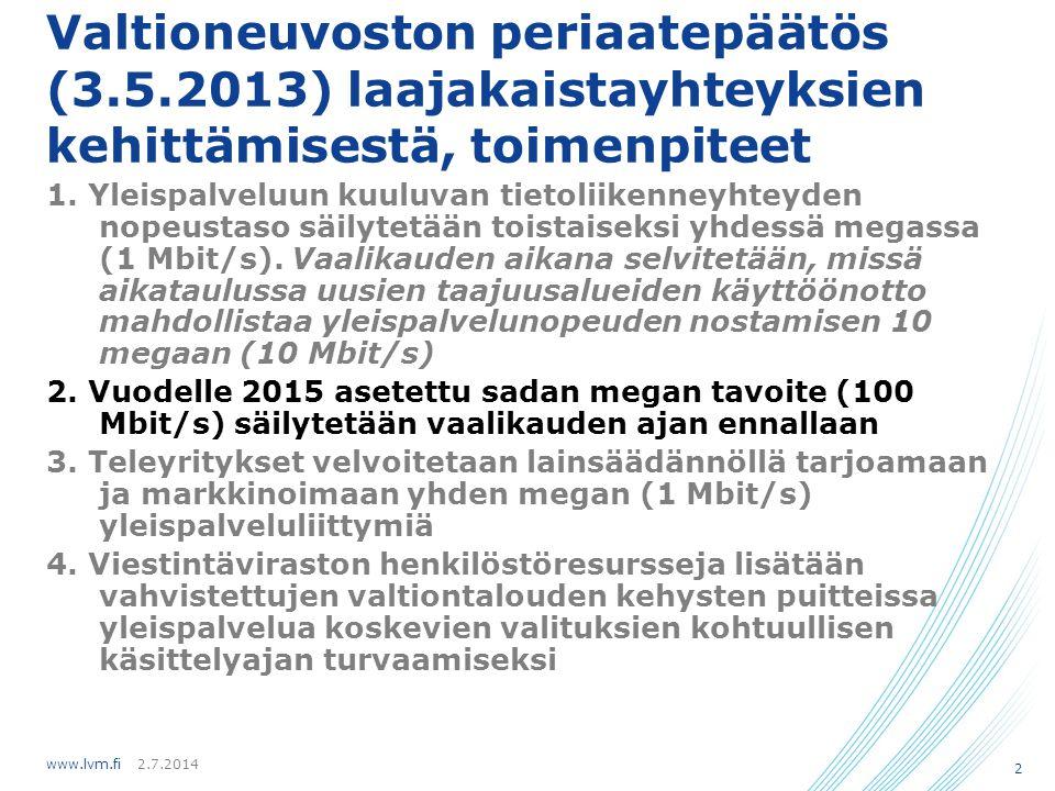 Valtioneuvoston periaatepäätös (3. 5