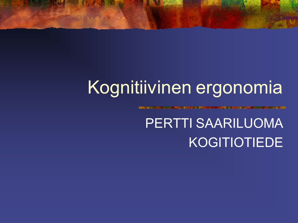 kognitiivinen psykoterapia Kalajoki