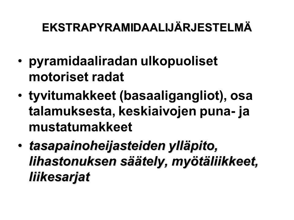 EKSTRAPYRAMIDAALIJÄRJESTELMÄ