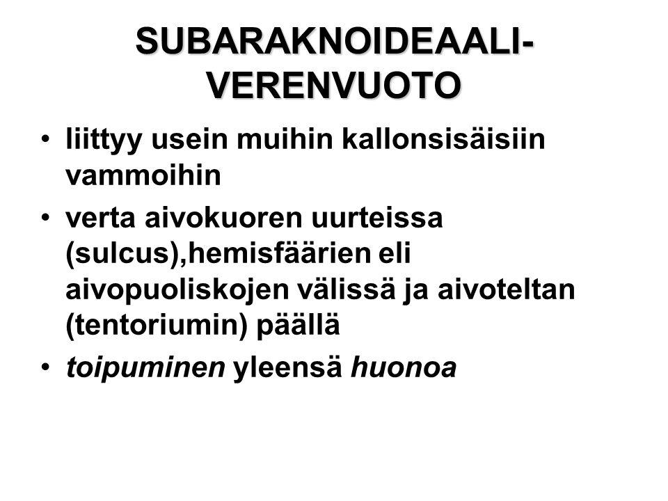 SUBARAKNOIDEAALI-VERENVUOTO