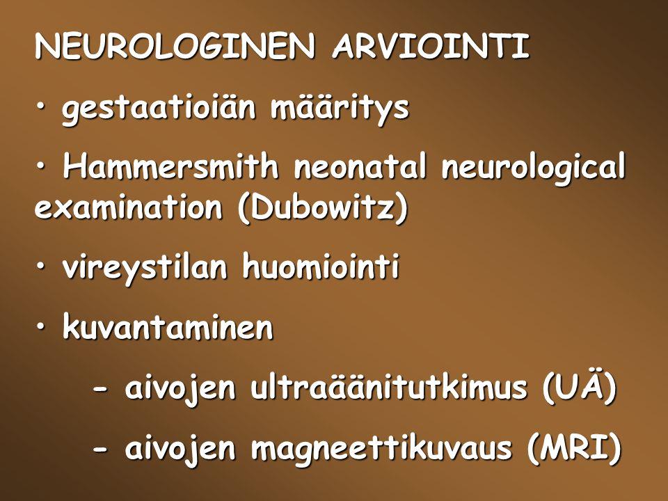 NEUROLOGINEN ARVIOINTI