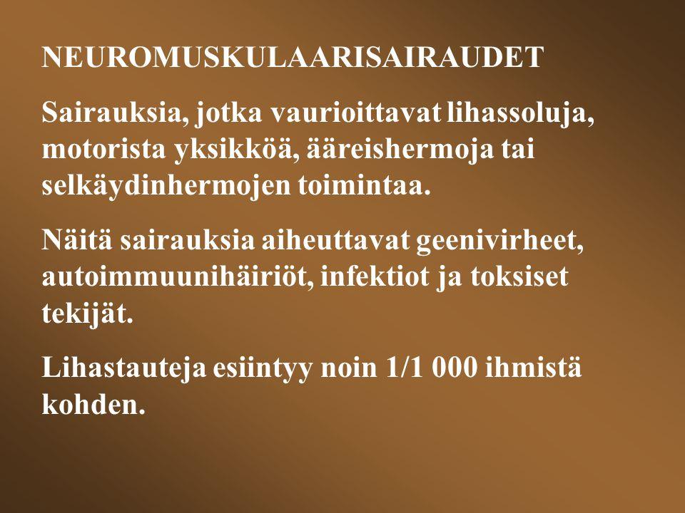 NEUROMUSKULAARISAIRAUDET