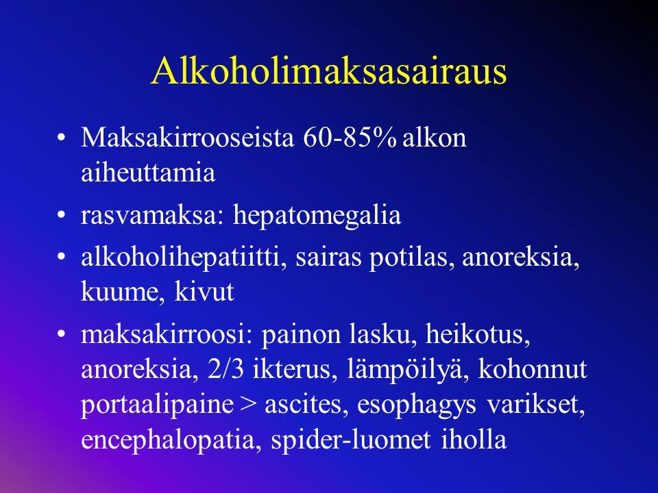 Alkoholimaksasairaus