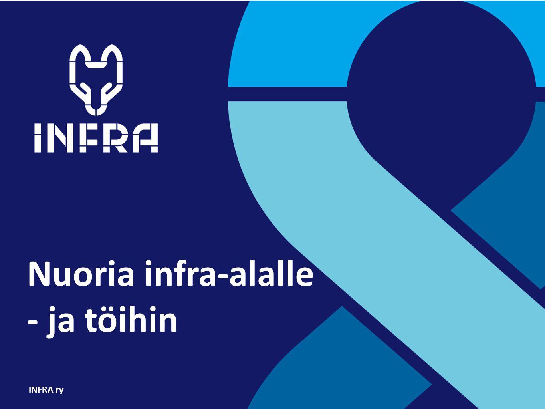 Nuoria infra-alalle - ja töihin INFRA ry