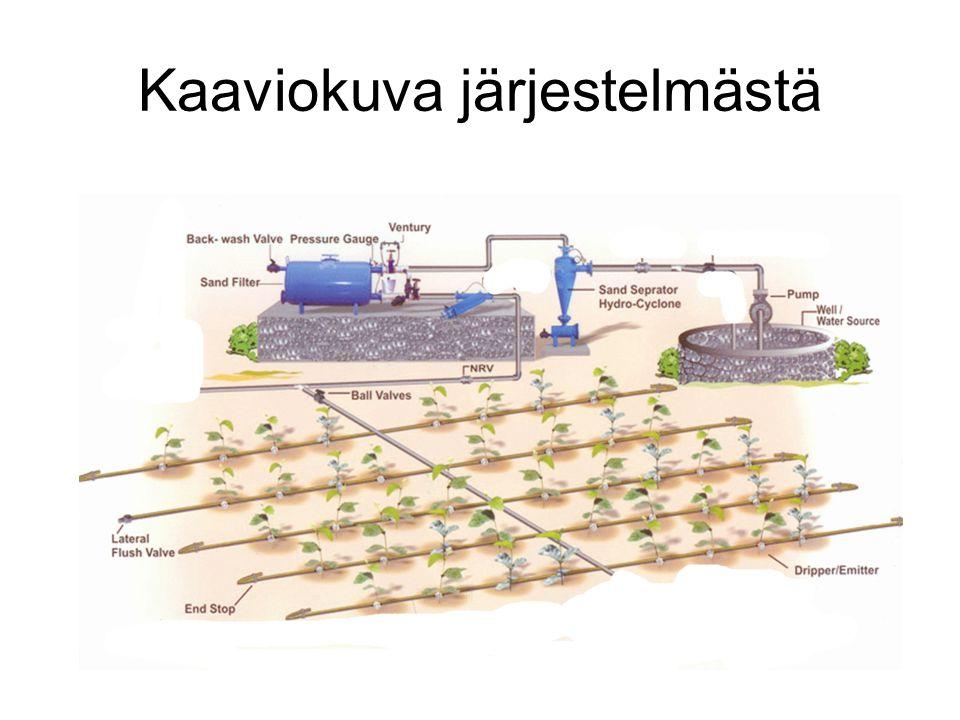 Kaaviokuva järjestelmästä