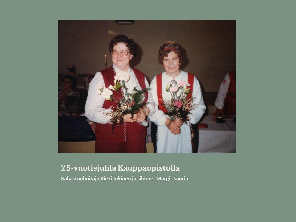 25-vuotisjuhla Kauppaopistolla