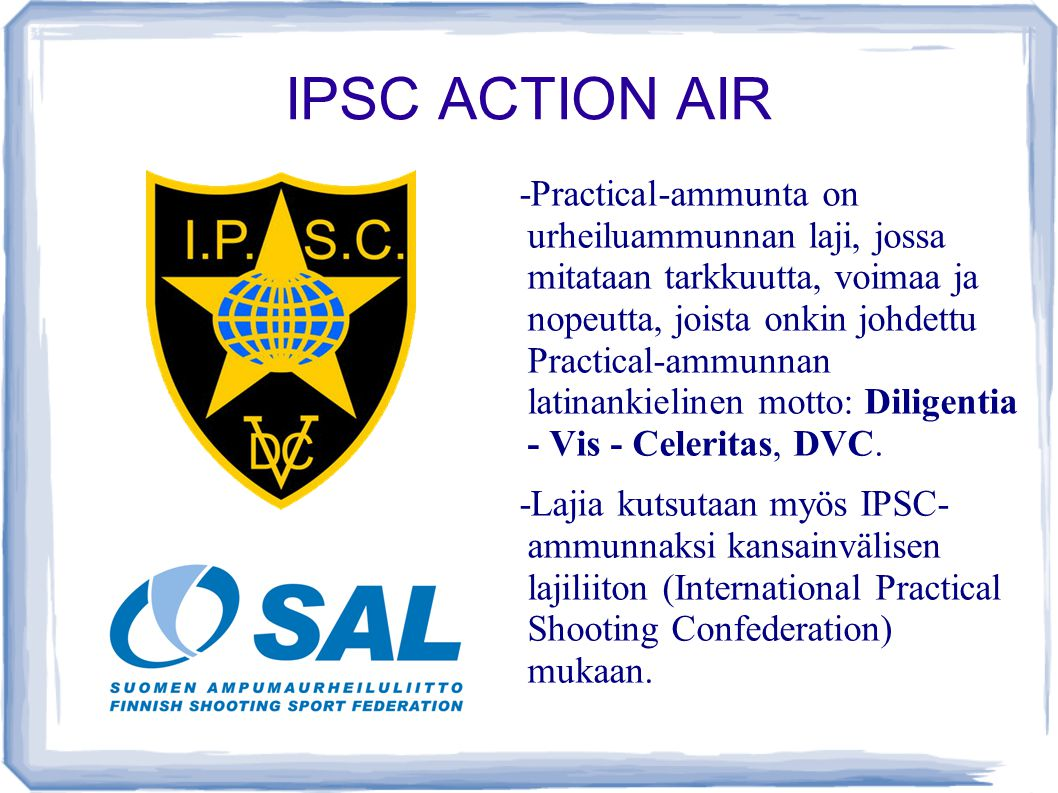 IPSC ACTION AIR