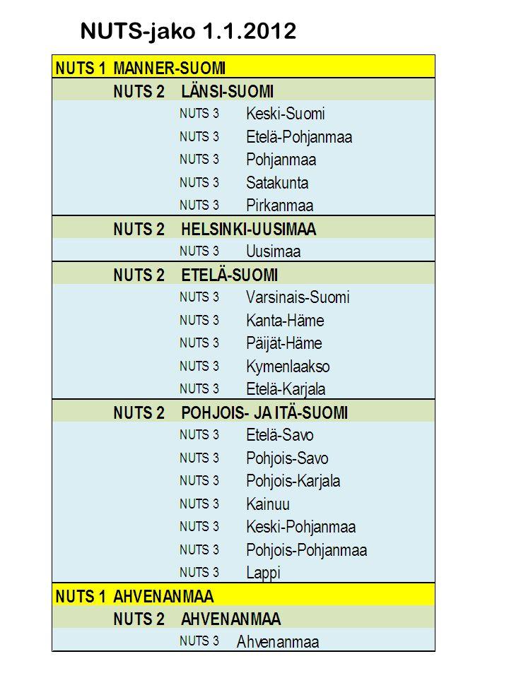 NUTS-jako 1.1.2012