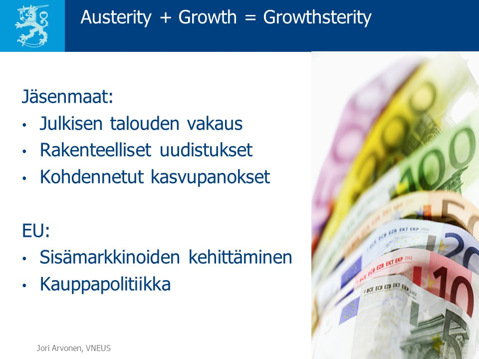 Austerity + Growth = Growthsterity