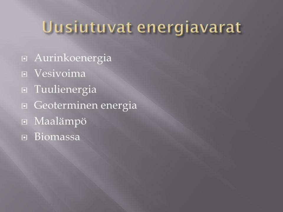 8. Energiavarat. - ppt lataa