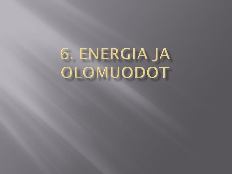 6. Energia ja olomuodot