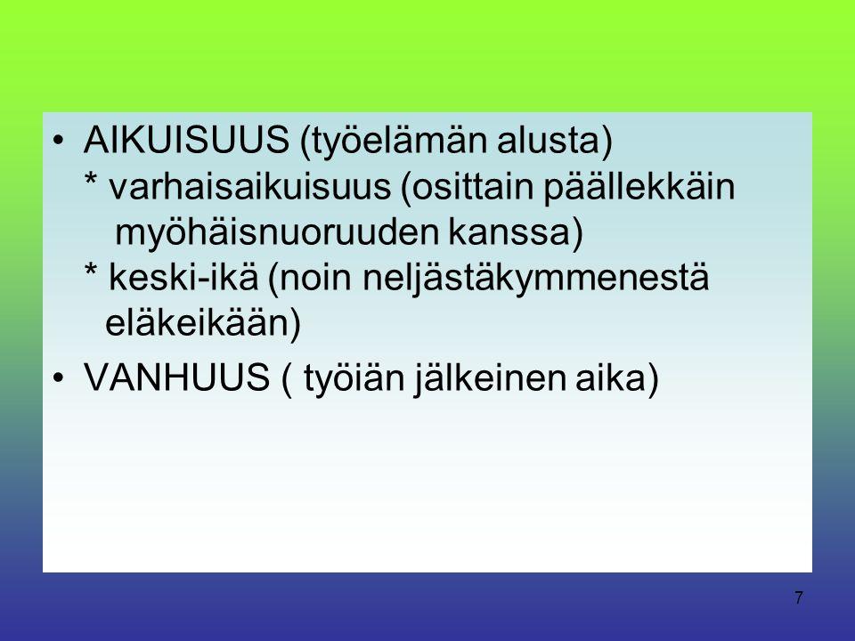 AIKUISUUS (työelämän alusta)