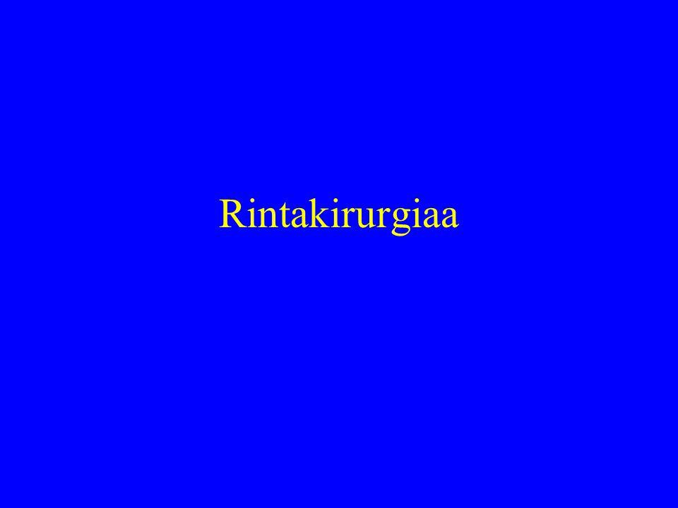Rintakirurgiaa
