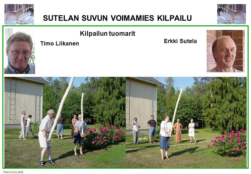 SUTELAN SUVUN VOIMAMIES KILPAILU