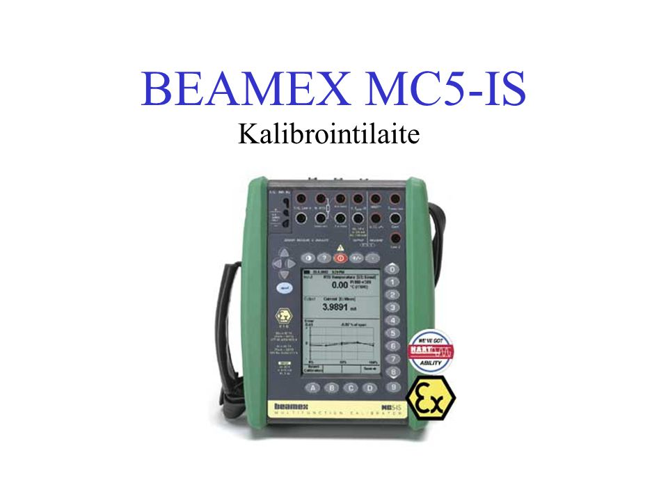 BEAMEX MC5-IS Kalibrointilaite