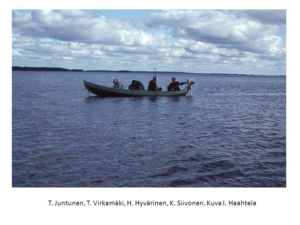 T. Juntunen, T. Virkamäki, H. Hyvärinen, K. Siivonen. Kuva I. Haahtela