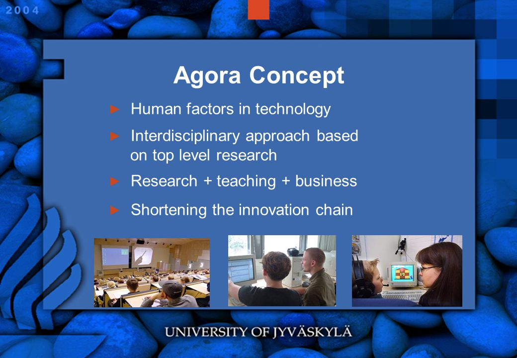 Agora Concept Human factors in technology