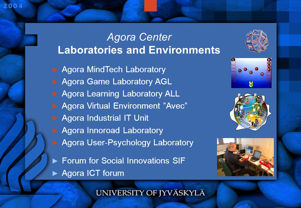 Agora Center Laboratories and Environments