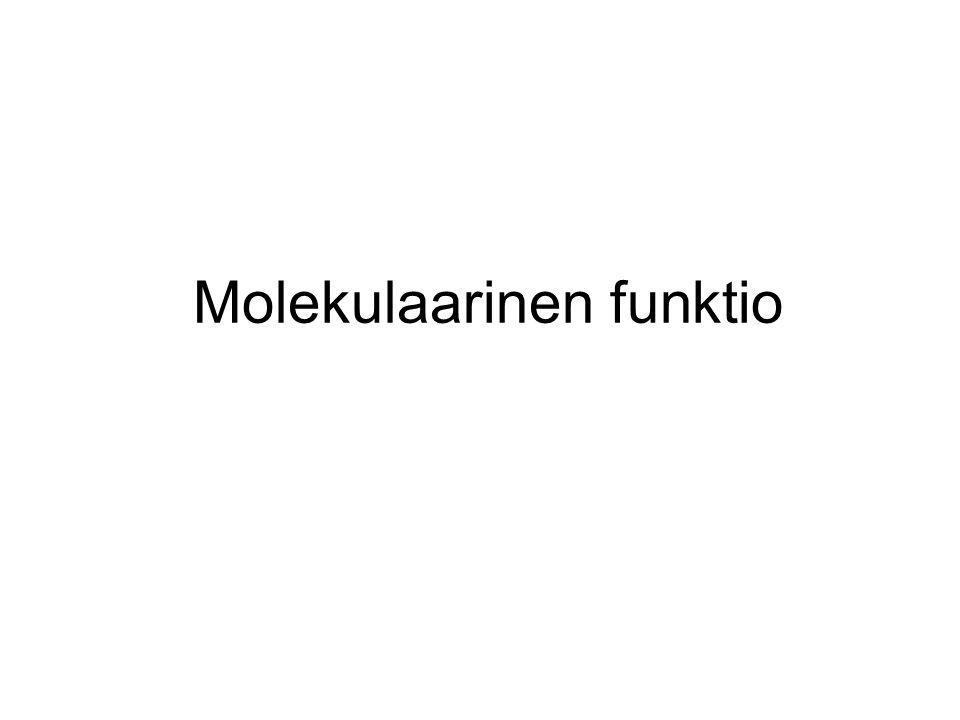 Molekulaarinen funktio