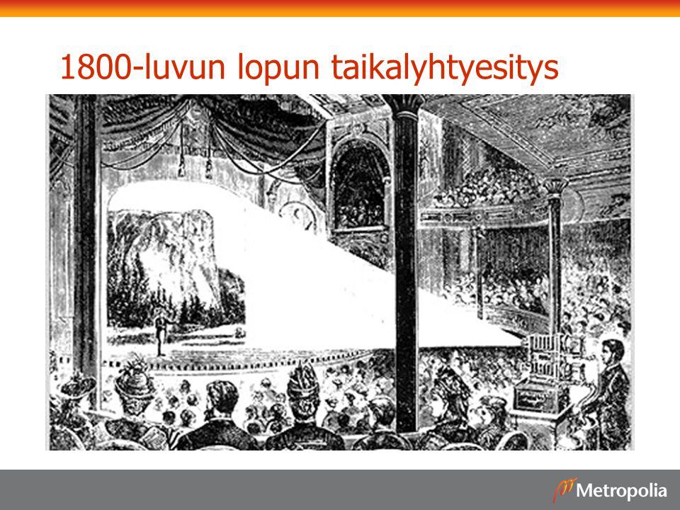 1800-luvun lopun taikalyhtyesitys