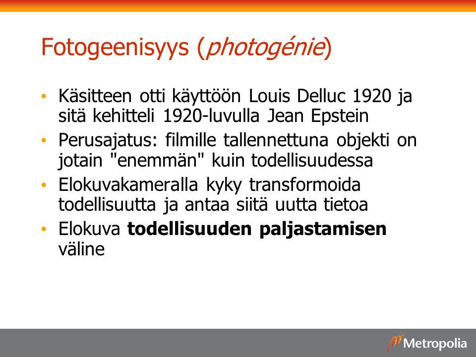 Fotogeenisyys (photogénie)