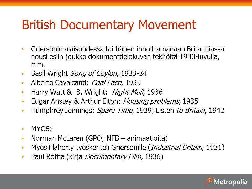 British Documentary Movement