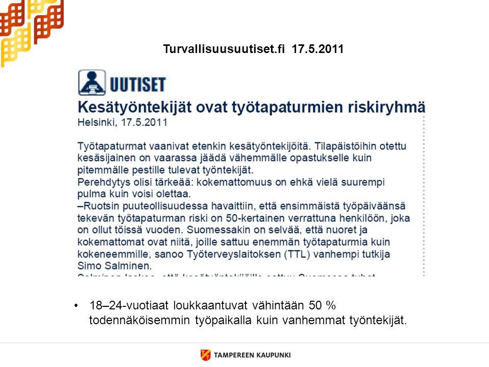 Turvallisuusuutiset.fi 17.5.2011