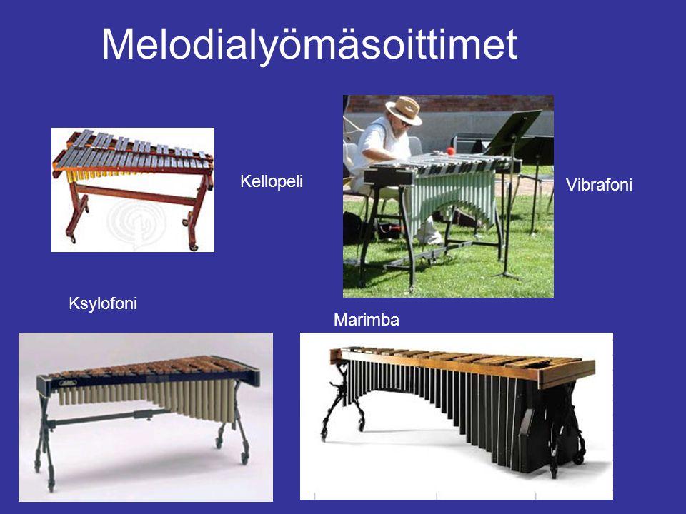 Melodialyömäsoittimet