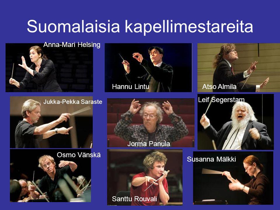 Suomalaisia kapellimestareita