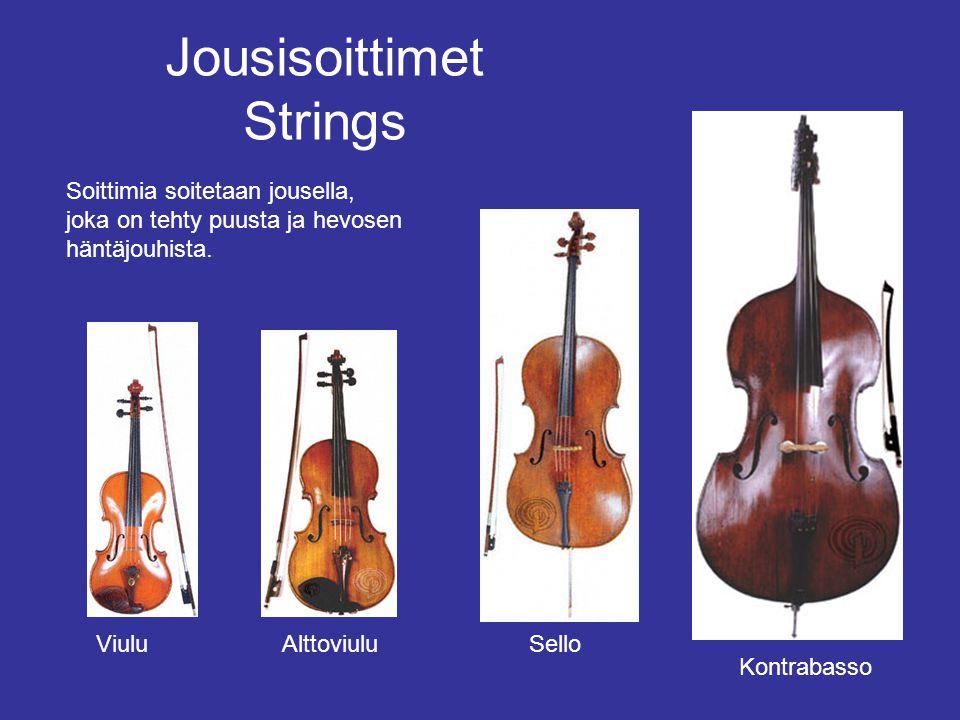 Jousisoittimet Strings