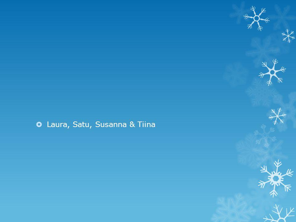 Laura, Satu, Susanna & Tiina