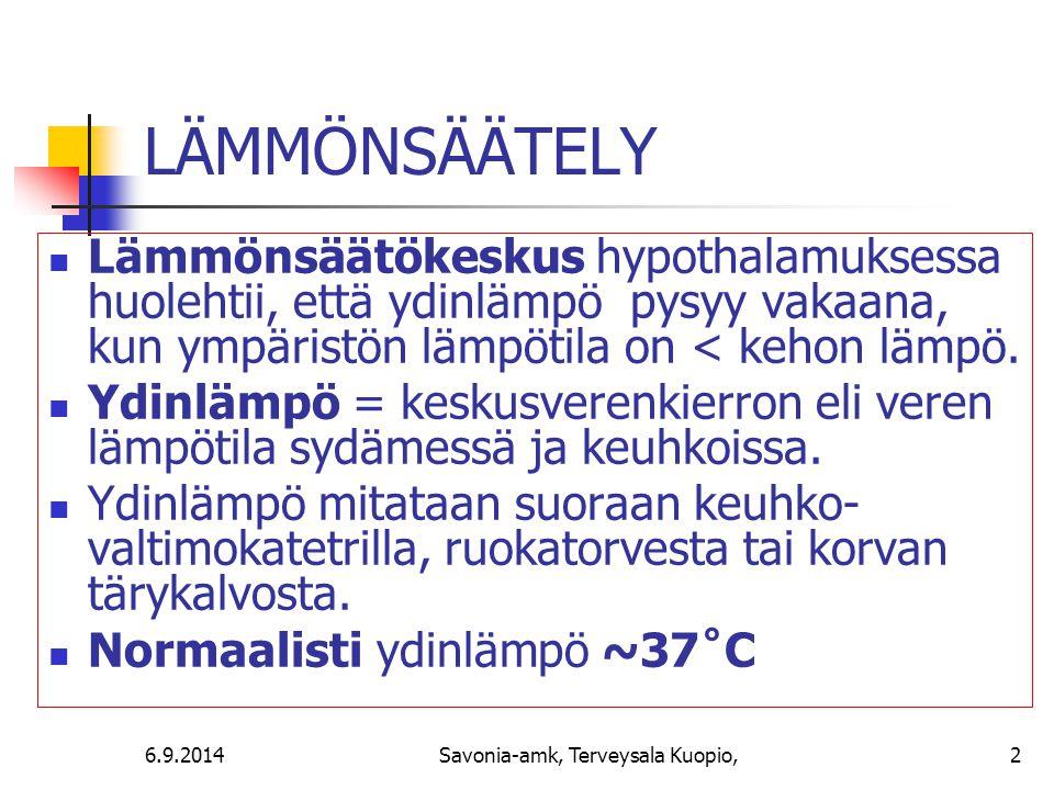 Savonia-amk, Terveysala Kuopio,