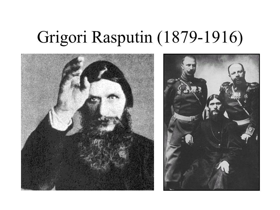 Grigori Rasputin (1879-1916)