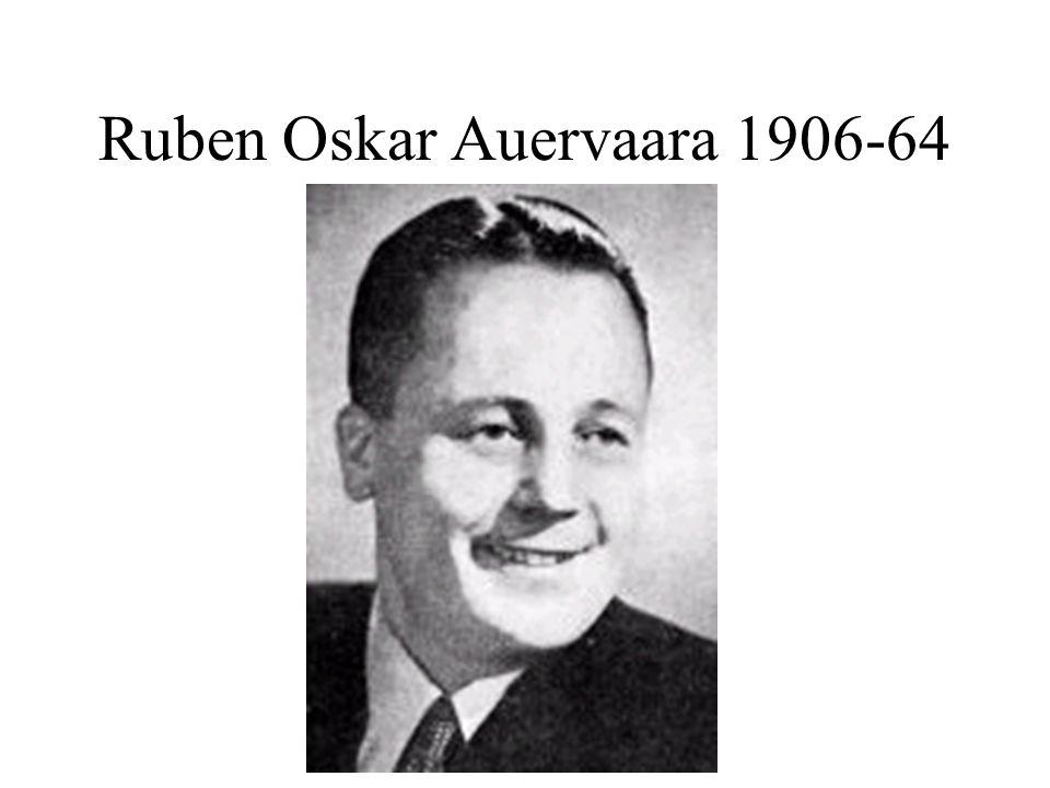 Ruben Oskar Auervaara 1906-64