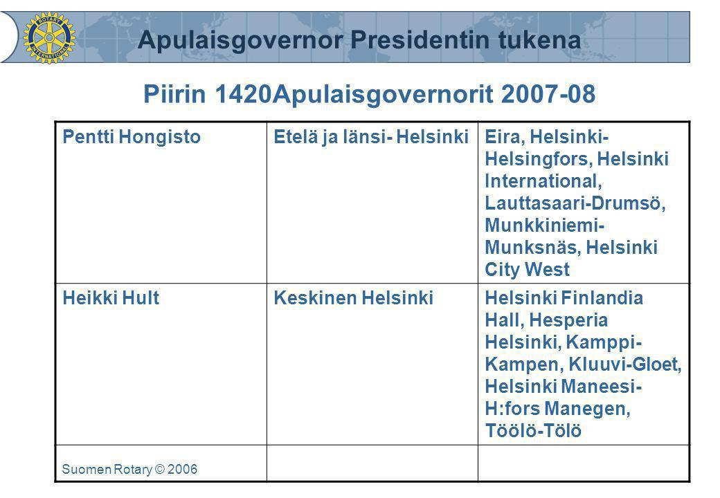Piirin 1420Apulaisgovernorit 2007-08