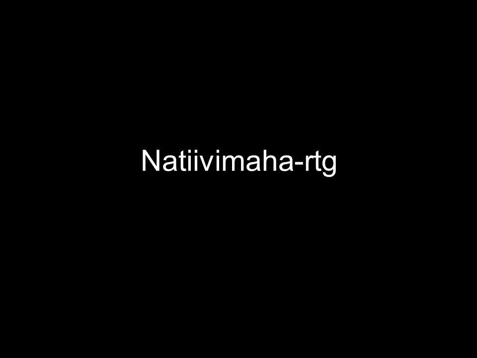 Natiivimaha-rtg