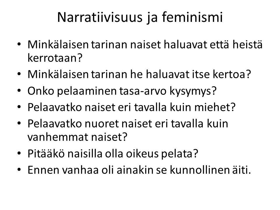 Narratiivisuus ja feminismi
