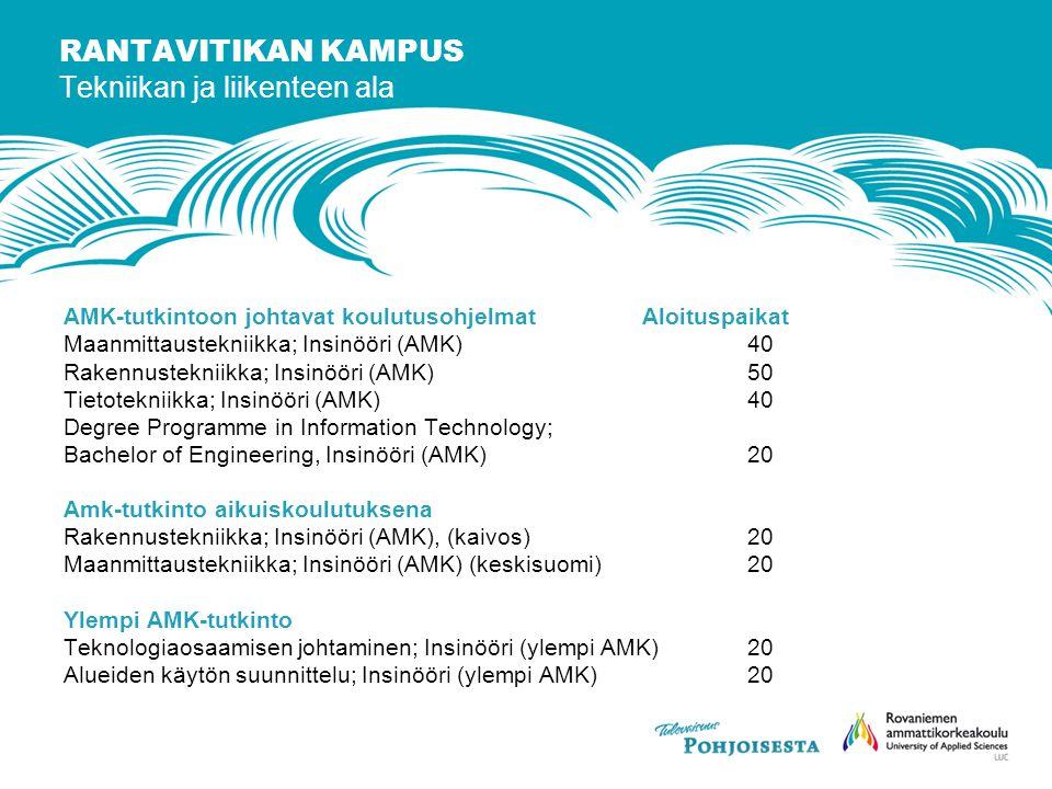 Rovaniemen ammattikorkeakoulu - ppt lataa