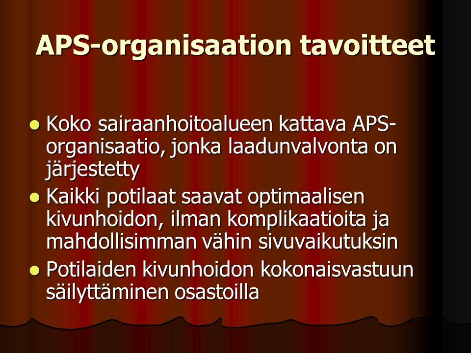 APS-organisaation tavoitteet
