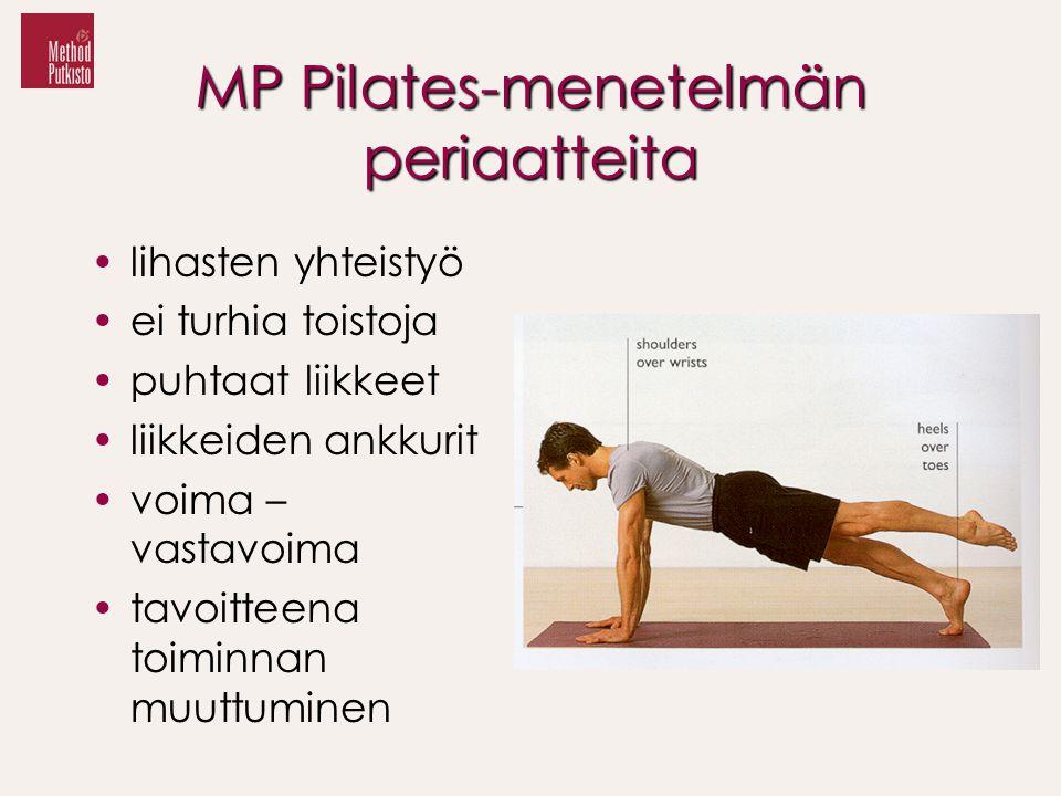 MP Pilates-menetelmän periaatteita